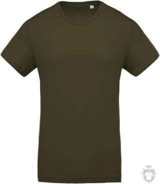 Camisetas Kariban Orgánica K371 color  :: Ref: mossy-green
