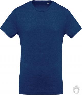 Camisetas Kariban Orgánica K371 color  :: Ref: ocean-blue-heather