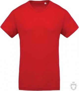 Camisetas Kariban Orgánica K371 color red :: Ref: red