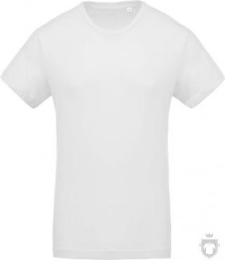 Camisetas Kariban Orgánica K371 color white :: Ref: white
