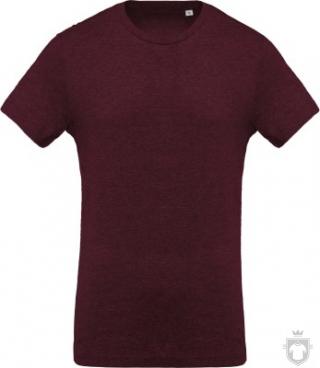 Camisetas Kariban Orgánica K371 color  :: Ref: wine-heather