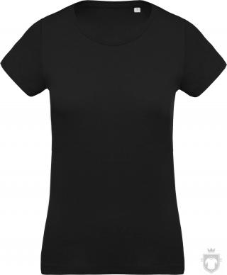 Camisetas Kariban Orgánica K391 W color Black :: Ref: black