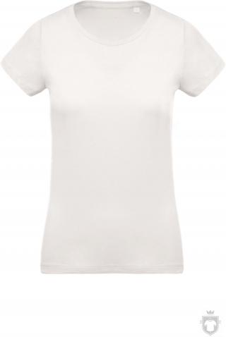Camisetas Kariban Orgánica K391 W color  :: Ref: cream