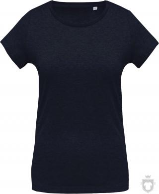 Camisetas Kariban Orgánica K391 W color  :: Ref: french-navy-heather