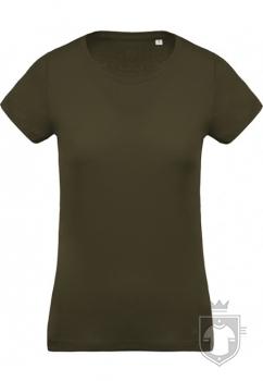Camisetas Kariban Orgánica K391 W color  :: Ref: mossy-green