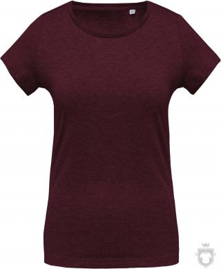 Camisetas Kariban Orgánica K391 W color  :: Ref: wine-heather