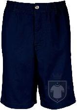 Pantalones Kariban Short multibolsillos color  :: Ref: darknavy