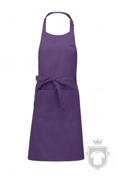 Delantales Kariban sommelier color Purple :: Ref: purple