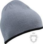 Gorras MB Beanie color Light grey - Black :: Ref: light-grey-black