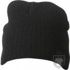 Gorras MB Knitted Rib Beanie color Black :: Ref: black