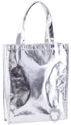 Bolsas MK Ides metalizada color Silver :: Ref: 09