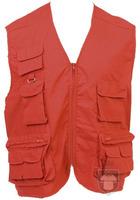 Chalecos MK Soviet multibolsillos color Red :: Ref: 03