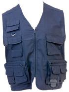 Chalecos MK Soviet multibolsillos color Navy blue :: Ref: 06
