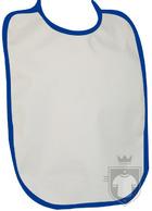 Baberos RTN Tena babero algodon color White - Navy :: Ref: 282