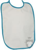 Baberos RTN Tena babero algodon color White - Azure :: Ref: 287