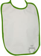 Baberos RTN Tena babero algodon color Green :: Ref: 349