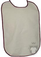 Baberos RTN Tena babero algodon color White - Brown :: Ref: 462