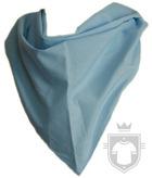 Panuelos RTN Triangular algodón 80X57 color sky blue :: Ref: celeste