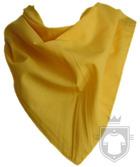 Panuelos RTN Triangular algodón 80X57 color egg :: Ref: huevo