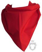 Panuelos RTN Triangular algodón 80X57 color Red :: Ref: rojo