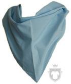 Panuelos RTN Triangular algodón 100X70 color sky blue :: Ref: celeste