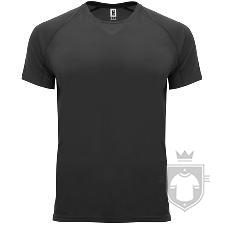 Camisetas Roly Bahrain color Black :: Ref: 02