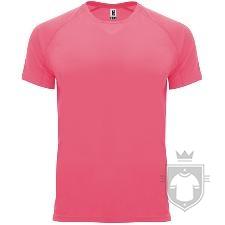 Camisetas Roly Bahrain color Rosa Lady Fluor :: Ref: 125