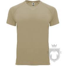 Camisetas Roly Bahrain color Dark Sand :: Ref: 219