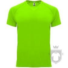 Camisetas Roly Bahrain color Fluor green :: Ref: 222