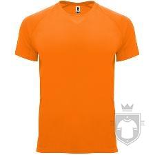 Camisetas Roly Bahrain color Orange Fluor :: Ref: 223