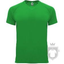 Camisetas Roly Bahrain color Green Fern :: Ref: 226