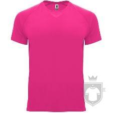 Camisetas Roly Bahrain color Fluo fuchsia :: Ref: 228