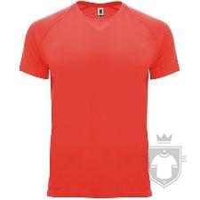 Camisetas Roly Bahrain color Fluor Coral :: Ref: 234