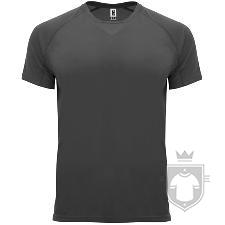 Camisetas Roly Bahrain color Dark lead  :: Ref: 46