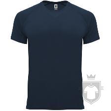 Camisetas Roly Bahrain color Navy blue :: Ref: 55