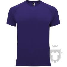Camisetas Roly Bahrain color Light purple :: Ref: 63