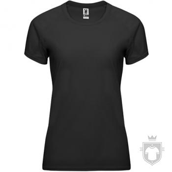 Camisetas Roly Bahrain W color Black :: Ref: 02