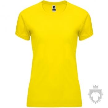 Camisetas Roly Bahrain W color Yellow :: Ref: 03