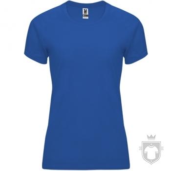 Camisetas Roly Bahrain W color Royal blue :: Ref: 05