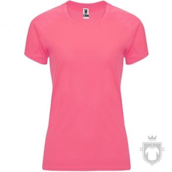 Camisetas Roly Bahrain W color Rosa Lady Fluor :: Ref: 125