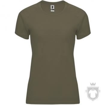 Camisetas Roly Bahrain W color Militar green  :: Ref: 15