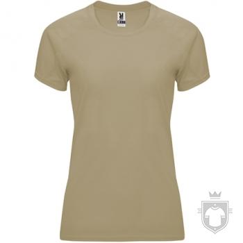 Camisetas Roly Bahrain W color Dark Sand :: Ref: 219