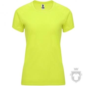 Camisetas Roly Bahrain W color Yellow Fluor :: Ref: 221