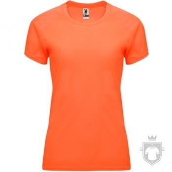 Camisetas Roly Bahrain W color Orange Fluor :: Ref: 223