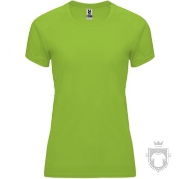 Camisetas Roly Bahrain W color lime :: Ref: 225