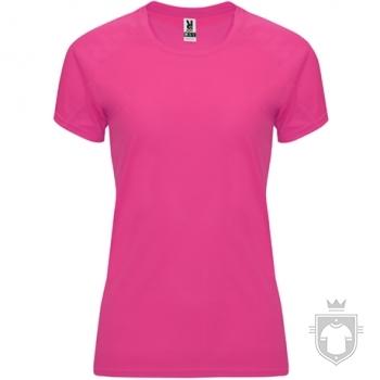 Camisetas Roly Bahrain W color Fluo fuchsia :: Ref: 228