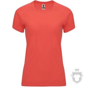 Camisetas Roly Bahrain W color Fluor Coral :: Ref: 234