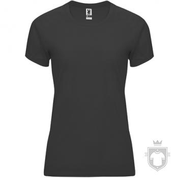 Camisetas Roly Bahrain W color Dark lead  :: Ref: 46