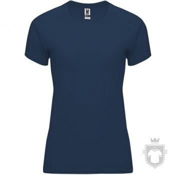Camisetas Roly Bahrain W color Navy blue :: Ref: 55