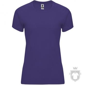 Camisetas Roly Bahrain W color Light purple :: Ref: 63